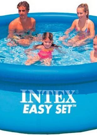 Надувной бассейн intex 28120