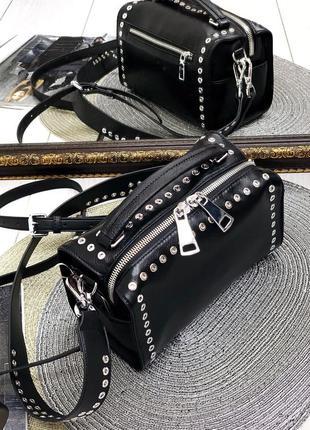 Женская сумка кожанная polina eiterou