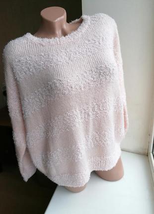 Объемный свитер оверсайз oversize батал большой размер redherr...