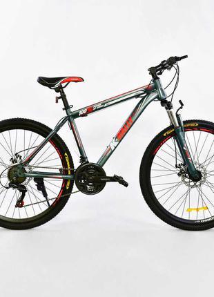 Велосипед Corso спортивный с металлической рамой