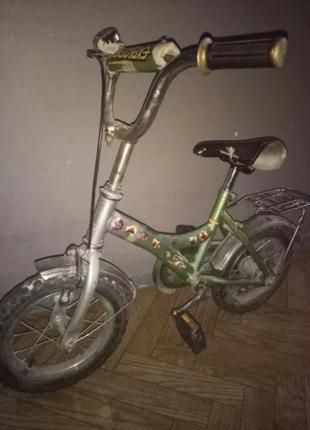 Детский велосипед, колеса 12