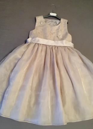 Sale нарядное длинное платье с пышной юбкой bhs