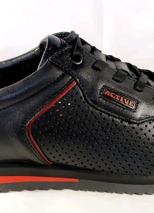 <<Стильные кожаные летние кроссовки MIDA. 40,42,43,44,45.