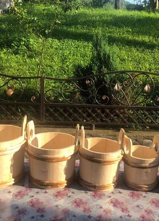 Відро, ведро для бани, сауна та баня