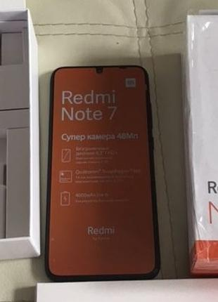 Смартфон Xiaomi Redmi Note 7 (4/64Gb) Black