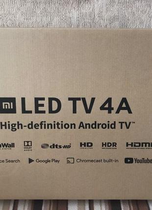 "Телевизор Xiaomi Mi TV 4A 32"" (Smart /Wi-Fi/T-2)"
