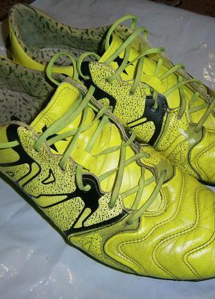 Футбольные бутсы adidas x 15.1 fg/ag leather b26979 оригінал к...