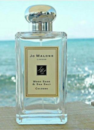Нишевый парфюм jo malone wood sage & sea salt 100 мл духи женс...