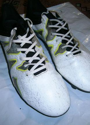 Футбольные бутсы adidas x 15+ sl fg/ag af4693 оригінал