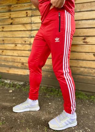 👖 мужские спортивные штаны adidas red 👖