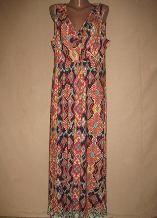 Вискозное платье tu р-р18