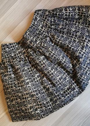 Пышная юбка с фатином и подкладкой