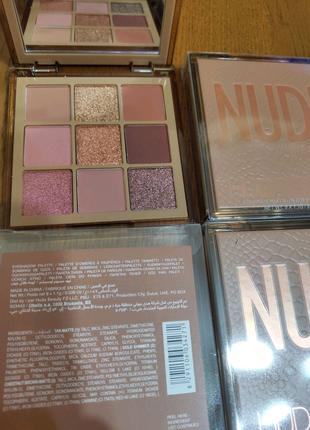 Палетка теней Nuda Beauty Nude оригинал