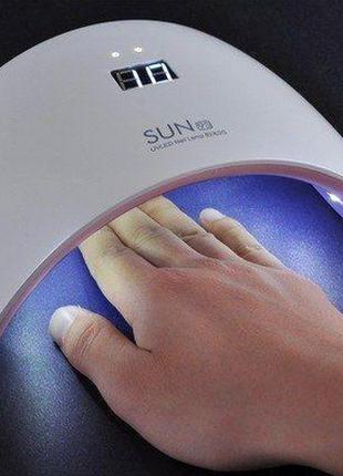 УФ Лампа для ногтей для маникюра и педикюра гель лака SUN 9S