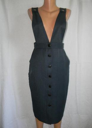 Стильное новое платье в полоску