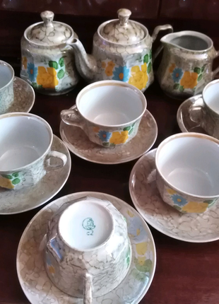 Фарфоровые сервизы чайные