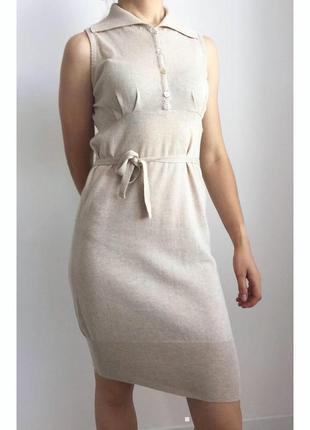 Платье, плаття бежеве.