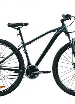 Велосипед 29″ Formula DRAGONFLY 2020 (серый с черным)