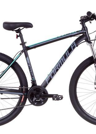 Велосипед 27.5″ Formula THOR 1.0 AM 14G DD Al 2019 (черно-серый с