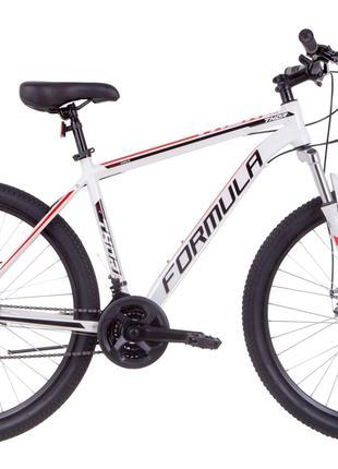 Велосипед 27.5″ Formula THOR 1.0 AM 14G DD Al 2019 (бело-черно-кр