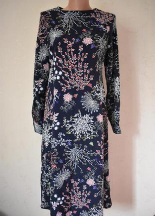 Новое красивое платье с принтом atmosphere