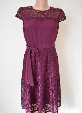 Новое красивое кружевное платье dorothy perkins