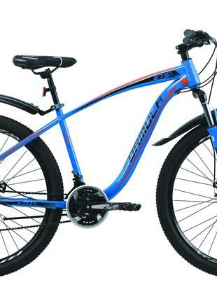 Велосипед 27.5″ Formula KOZAK 2020 (сине-оранжевый )