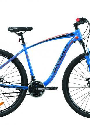 Велосипед 29″ Formula KOZAK 2020 (сине-оранжевый )