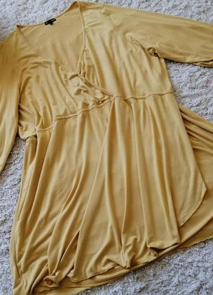Платье - туника из трикотажной вискозы очень большого размера ...