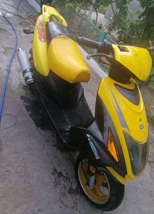 Скутер fosti