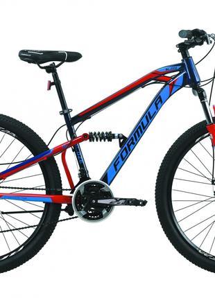 Велосипед 27.5″ Formula BLAZE 2020 (синий с красным)