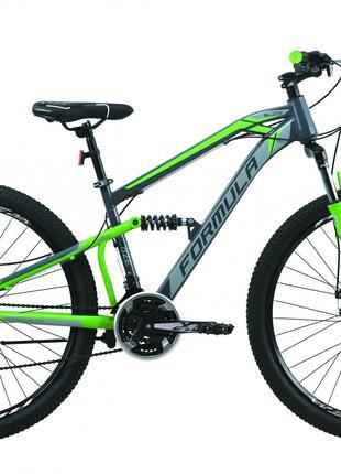 Велосипед 27.5″ Formula BLAZE 2020 (серо-зеленый)