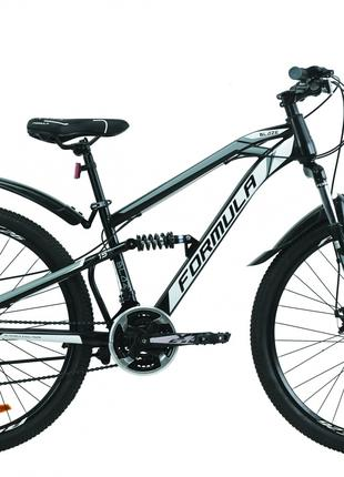 Велосипед 27.5″ Formula BLAZE 2020 (черно-серый с белым)