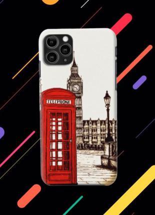 """Чехол """"Лондон""""для Iphone 5/6/7/8/X/XR/XS/11/11pro"""