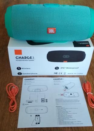 JBL Charge 3+ портативная колонка экстрим Bluetooth charge дЖбл