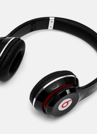 Наушники беспроводные Bluetooth Monster Beats Мощным Звуком с mp3