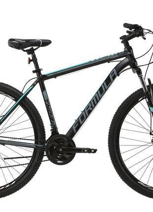 Велосипед AL 29″ Formula THOR 2.0 AM DD 2020 (черно-бирюзовый с с