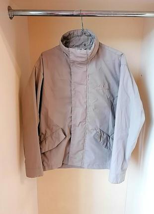 Демисезонная легкая куртка оверсайз oversize sergio tacchini и...