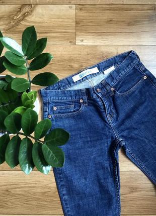 Базовые синие джинсы олдскул gap