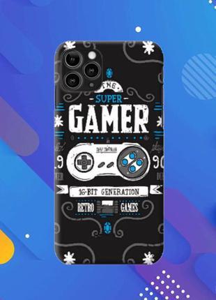 Чехол «Gamer» для Iphone 5/6/7/8/X/XR/XS/11/11pro