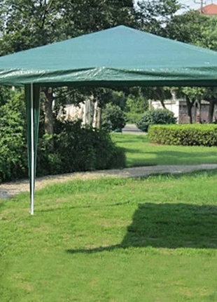 Павильон садовый - шатер раскладной (полиэтилен) 3х3 м
