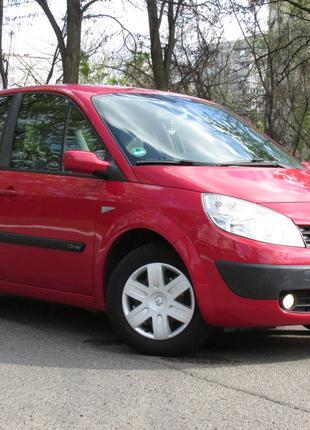 Renault Megane SCENIC 1.6i-16V ГБО 2005
