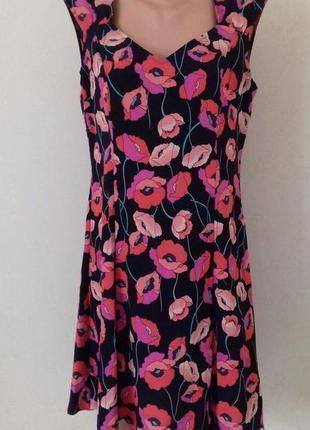 Новое легкое платье с принтом f&f