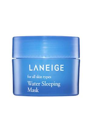 Увлажняющая ночная маска для лица laneige water sleeping mask ...