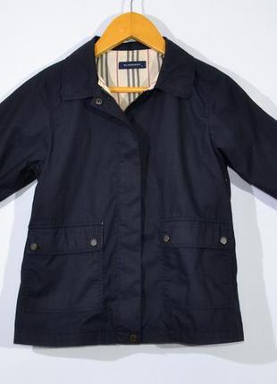 Плащ пальто burberry kids jacket