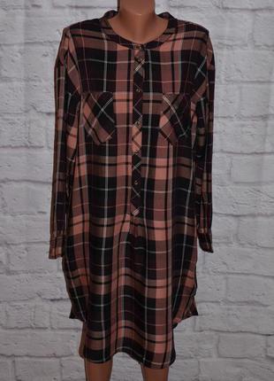 "Платье - рубашка с боковыми карманами ""m&s collection"""