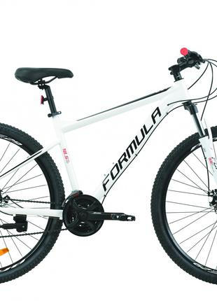 Велосипед AL 29″ Formula F-1 AM DD 2020 (бело-черный с красным)