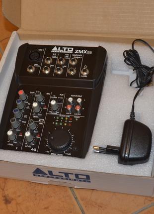 Мікшерний пульт Alto Professional ZMX52