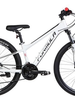 Велосипед 26″ Formula F-1 HDD 2020 (бело-черный с красным)
