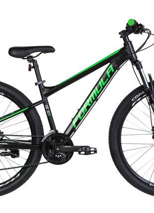Велосипед 27.5″ Formula F-1 HDD 2020 (черно-зеленый)